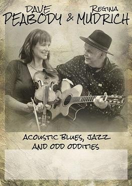 Dave Peabody und Regina Mudrich live