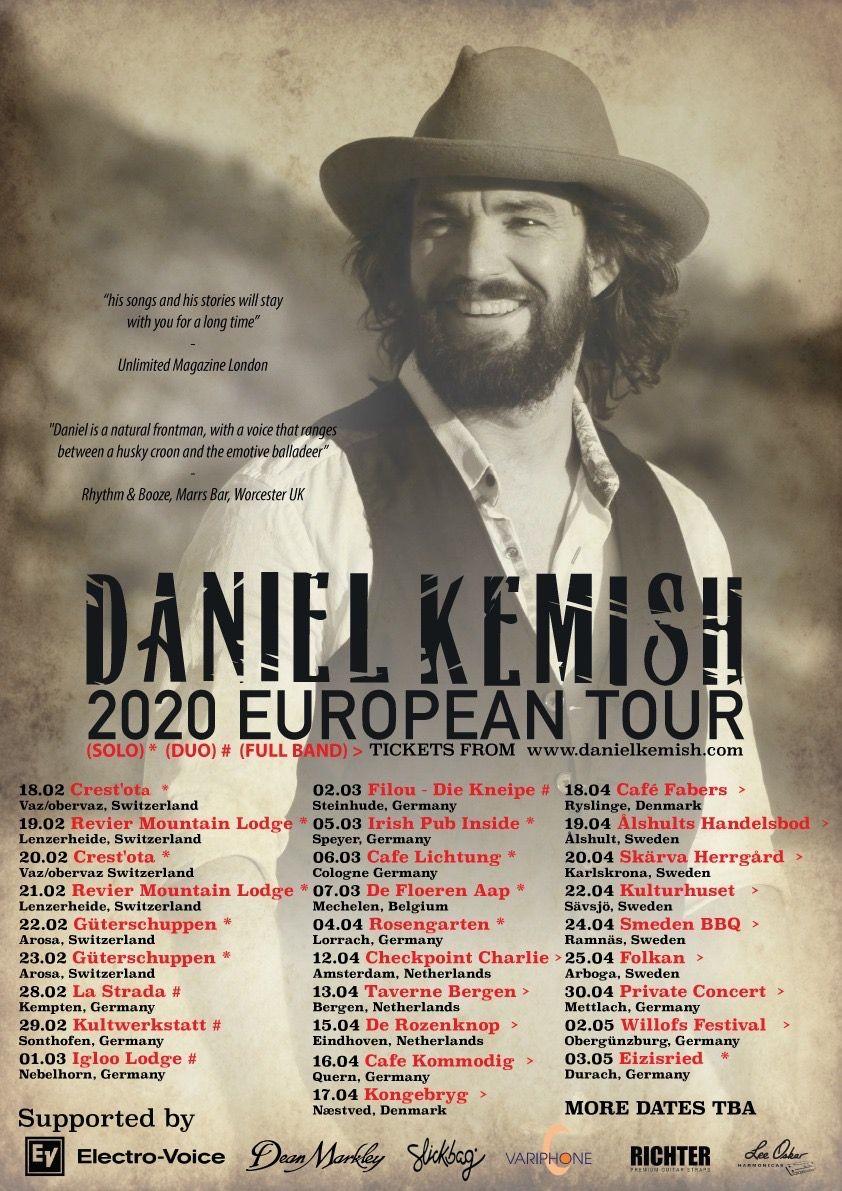 Daniel Kemish live 2020