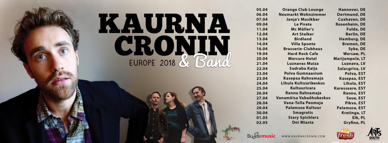 Kaurna Cronin live