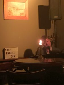 Pianist Tom Engel im Vincent Berlin