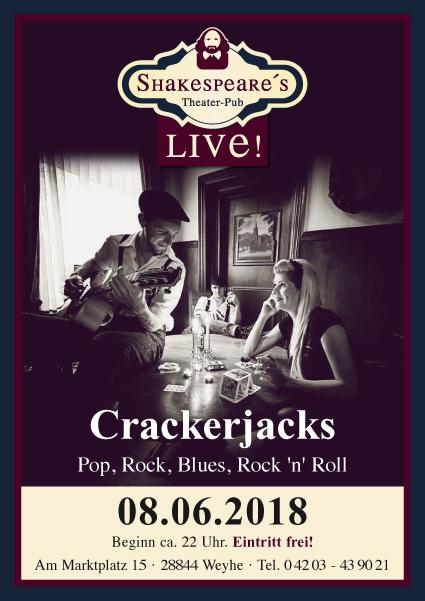 Crackerjacks in Shakespeare's Theater Pub Weyhe