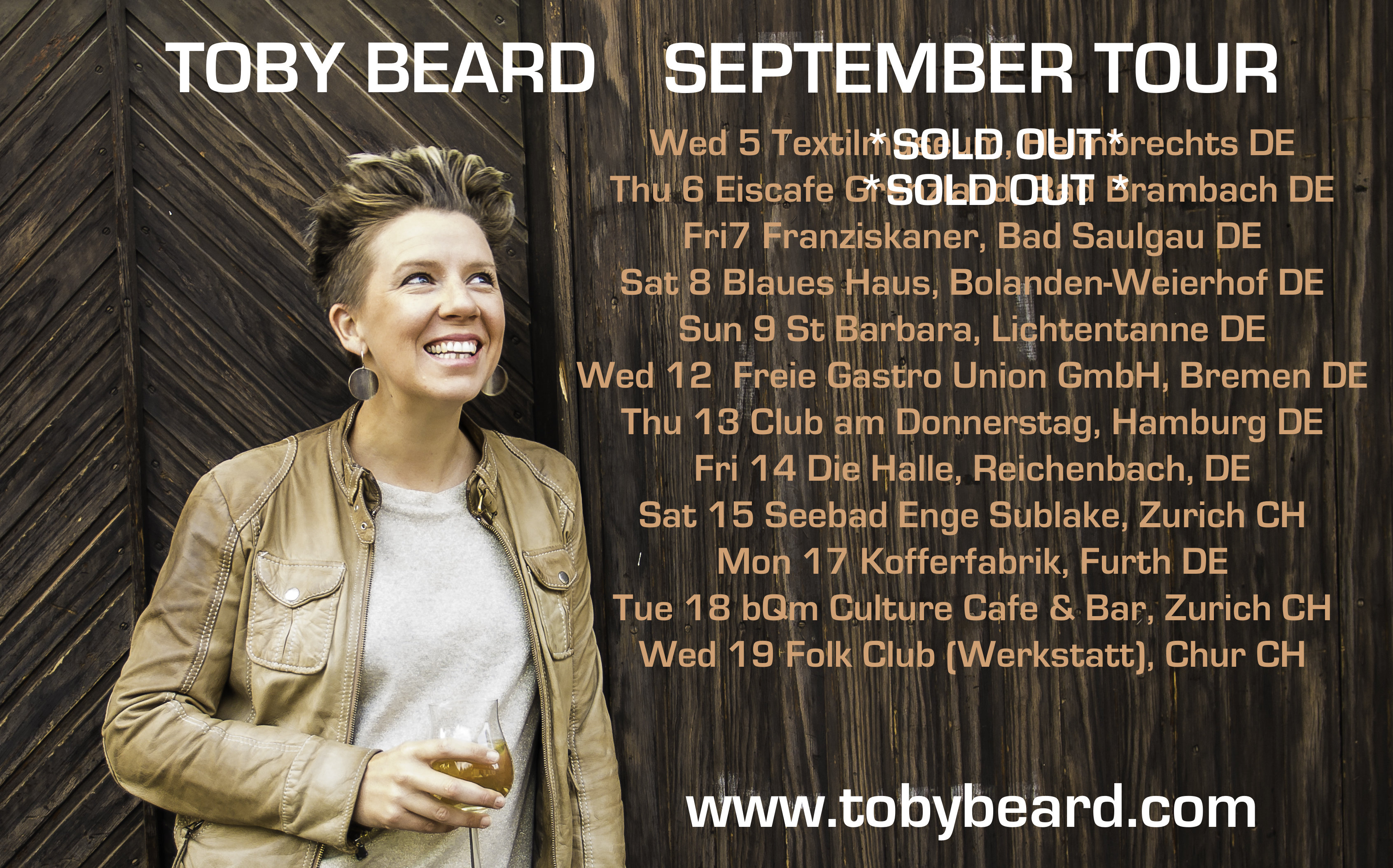 Toby Beard live in Konzert
