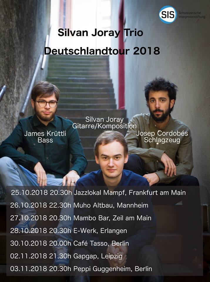 Silvan Joray Trio live