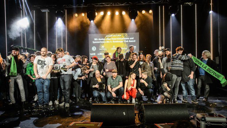 Das Clubkombinat hat Hamburgs Musikclubs des Jahres 2018 geehrt