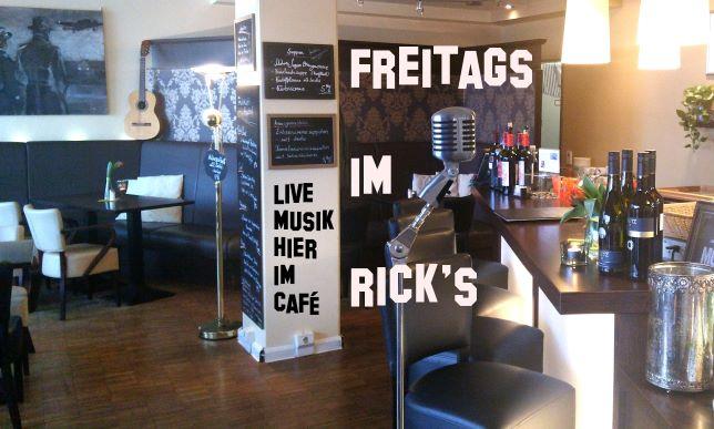 Freitags im Ricks Mülheim Livemusik