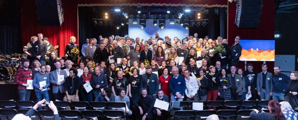 Preisverleihung Applaus 2019 - Foto: Initiative Musik